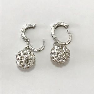 3 for $20 Silver 925 Crystal Ball Stud  Earrings